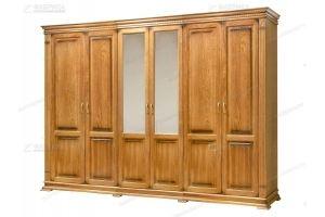 Шкаф большой распашной Верди 60 - Мебельная фабрика «Фабрика натуральной мебели»
