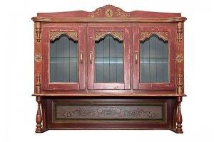 Шкаф-буфет из массива сосны - Мебельная фабрика «Грин Лайн»