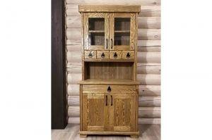 Шкаф-буфет массив - Мебельная фабрика «Массив»