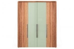 Шкаф четырехдверный зеркало - Мебельная фабрика «Parra»