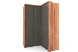 Шкаф четырехдверный угловой - Мебельная фабрика «Parra»