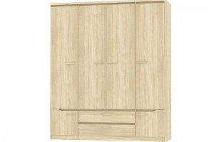 Шкаф четырехстворчатый Люксор - Мебельная фабрика «Эстель»