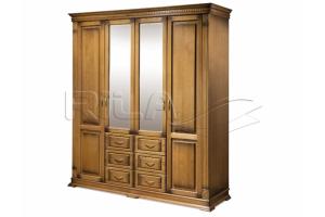 Шкаф четырехстворчатый Verdi 4CT - Мебельная фабрика «Rila»