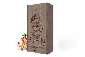 Шкаф детский  2-х дверный Pirat - Мебельная фабрика «ABC King»