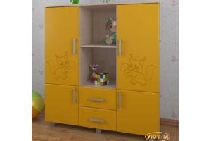 Шкаф детский комбинированный - Мебельная фабрика «Уют-М»