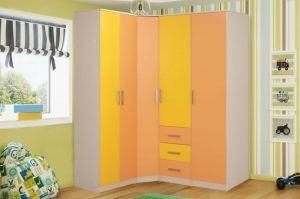 Шкаф детский угловой модульный Герда - Мебельная фабрика «Грааль»