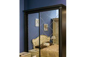 Шкаф Диамант зеркало с гравировкой и фацетами - Мебельная фабрика «Эльф»