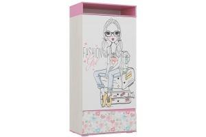 Шкаф для детской Алиса 1 - Мебельная фабрика «Ваша мебель»
