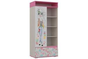 Шкаф для детской Алиса 2 - Мебельная фабрика «Ваша мебель»