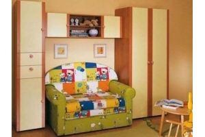 Шкаф для детской комнаты 014 - Мебельная фабрика «La Ko Sta»