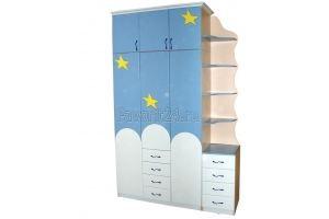 Шкаф для детской комнаты - Мебельная фабрика «Фаворит»