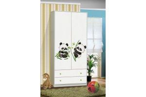 Шкаф для детской Пандочки - Мебельная фабрика «Аристократ»