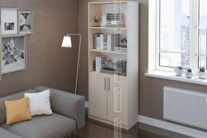 Шкаф с открытыми полками для документов - Мебельная фабрика «Вавилон58»