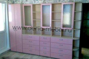 Шкаф для гостиной - Мебельная фабрика «Дэрия»