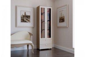 Шкаф для книг рамочный ШК 02 - Мебельная фабрика «Милайн»