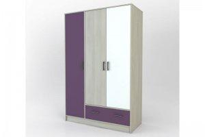 Шкаф для одежды Берлин 3-1 Color - Мебельная фабрика «Мастер Дом»
