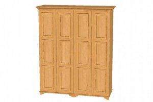 Шкаф для одежды четырехстворчатый - Мебельная фабрика «Упоровская мебельная фабрика»