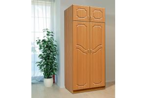 Шкаф для платья и белья Дуэт 2 - Мебельная фабрика «СКИФ»
