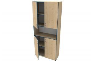 Шкаф для пособий с нишей 14 - Мебельная фабрика «Вилена»