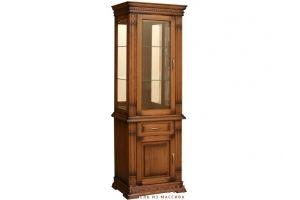 Шкаф для посуды Верди Люкс 1з - Мебельная фабрика «МЭБЕЛИ»