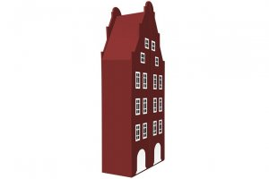 Шкаф-дом двухстворчатый Амстердам - 1 - Мебельная фабрика «Мандарин»