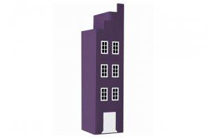 Шкаф-домик книжный Амстердам - Мебельная фабрика «Мандарин»
