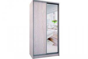 Шкаф двухдверный с одним зеркалом - Мебельная фабрика «Хомма»