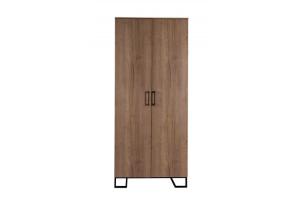Шкаф двухстворчатый без зеркал Loft - Мебельная фабрика «Perrino»