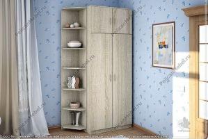 Шкаф двустворчатый распашной - Мебельная фабрика «Пеликан»