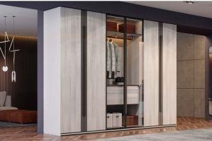 Шкаф-гардеробная Manhattan - Мебельная фабрика «Giulia Novars»