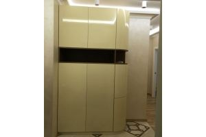 Шкаф глянцевый радиусный - Мебельная фабрика «Настоящая Мебель»