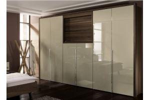 Шкаф глянцевый распашной Беатрис - Мебельная фабрика «LEVANTEMEBEL»