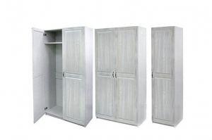 Шкаф из брашированного массива сосны - Мебельная фабрика «Массив»