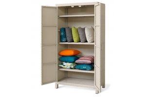 Шкаф из искусственного ротанга 05-117 - Мебельная фабрика «АртРотанг»