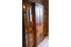Шкаф из массива дуба - Мебельная фабрика «Винтаж»
