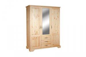 Шкаф из массива сосны Б-1,5 - Мебельная фабрика «Мебель Мастер»