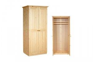ШКАФ из массива сосны И-0,8 - Мебельная фабрика «Мебель Мастер»