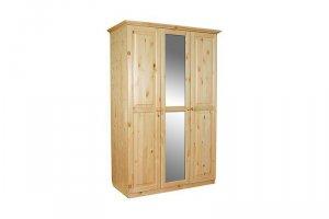 Шкаф из массива сосны И-1,2 - Мебельная фабрика «Мебель Мастер»