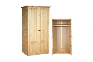 ШКАФ из массива сосны И-1 - Мебельная фабрика «Мебель Мастер»