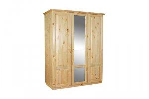 Шкаф из массива сосны И-1,5 - Мебельная фабрика «Мебель Мастер»