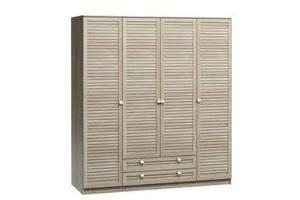 Шкаф Кантри-4-190-240 - Мебельная фабрика «Woodcraft»