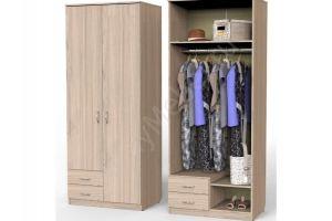 Шкаф Карат с 2мя малыми ящиками и штангой - Мебельная фабрика «Алтай-Командор»