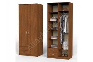 Шкаф Карат с 2мя малыми ящиками и секциями - Мебельная фабрика «Алтай-Командор»