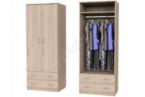 Шкаф Карат с 2мя ящиками и штангой - Мебельная фабрика «Алтай-Командор»