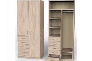 Шкаф Карат с 5ю малыми ящиками и секциями - Мебельная фабрика «Алтай-Командор»