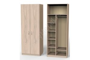 Шкаф Карат Ш2 Глубокий (800) С секциями - Мебельная фабрика «Алтай-Командор»