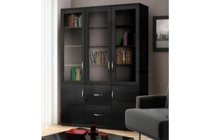Шкаф книжный большой Моне 3.4 - Мебельная фабрика «Фаворит»