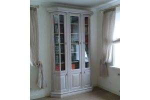 Шкаф книжный из массива - Мебельная фабрика «Винтаж»