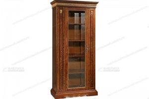Шкаф книжный Милан 210 - Мебельная фабрика «Фабрика натуральной мебели»