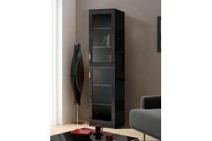 Шкаф книжный Моне венге 1.2 - Мебельная фабрика «Фаворит»